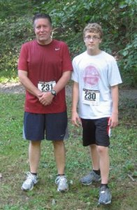 My 2nd 5K -2010 - with free beer at the finish line